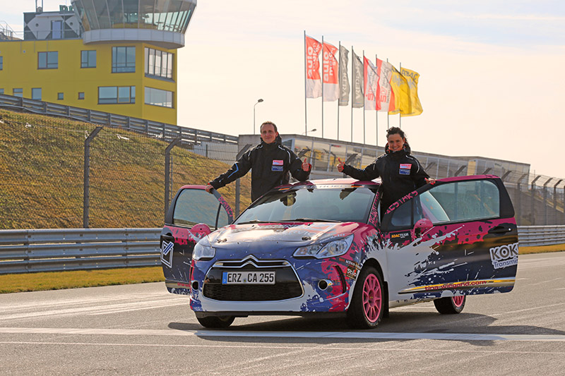 3…. 2…. 1… Start für das Team Wiegand/Laun in der Citroen DS3 Trophy
